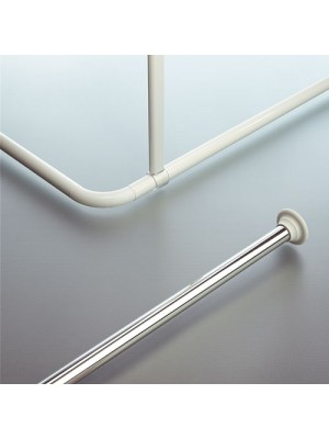 Shower Curtain Rod - OVAL