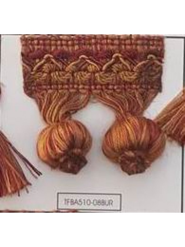 FRINGE BY THE METER - ART OFBAONF (5CM TALL) - SELECT COLOR