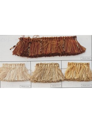 FRINGE BY THE METER - ART UFBE680 (4,00CM TALL) - SELECT COLOR