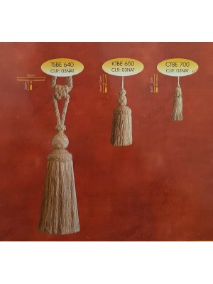 Tiebacks and Tassels - Select Code and Color