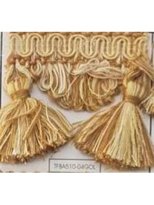 FRINGE BY THE METER - ART TFBA510 (6CM TALL) - SELECT COLOR