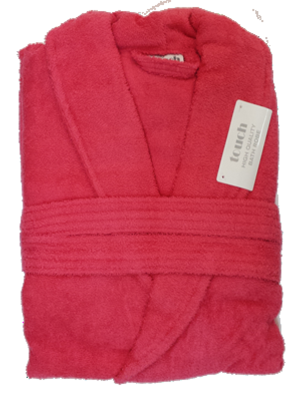 Bathrobe 100% cotton - Great Quality - Available in five colors