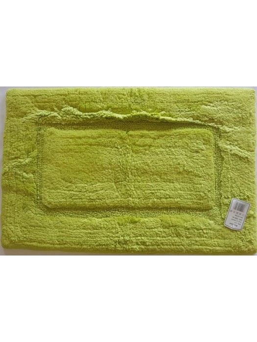 Bath Mat 100% Cotton Size: 53cm X 86cm - Select Color