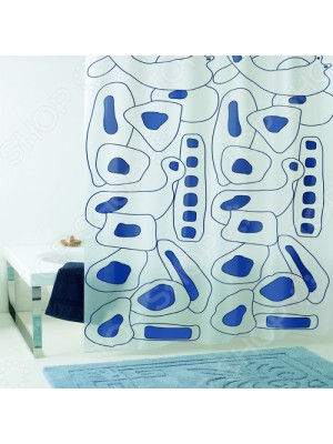 Shower Curtain Size: 180 X 200cm - Art: Abstract