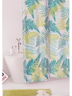Shower Curtain Size: 180 X 200cm - Art: Foliage