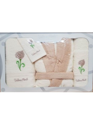 Bathtowel - Bathrobe - 4pcs Set