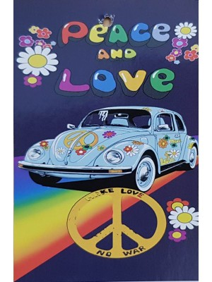Beach Towel 70 X140cm - Peace and Love