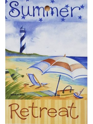 Beach Towel 70 X140cm - Summer Retreat