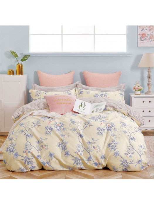 Summer Bed Sheet Set 100% Cotton 205TC - art: 1952