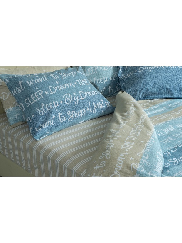 Flannel Bed Sheet Set - Select Size - art:1920