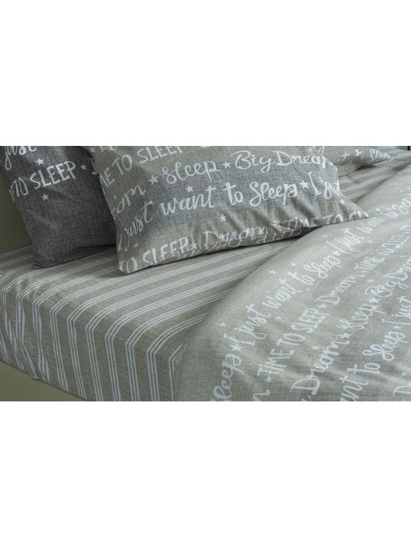Flannel Bed Sheet Set - Select Size - art:1927