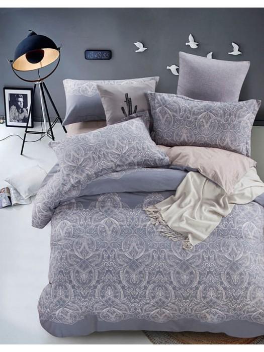 Bed Sheet Set 230TC 100% Cotton for King Size Bed art:1721 Frisson
