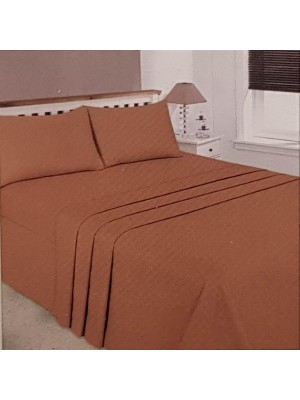 Summer 100% Cotton Bedsheet Sets - Select Size and Color