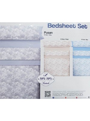 Summer Bed Sheet Set - Select Color and Size