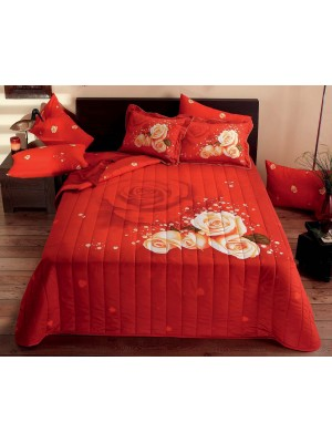 Quilt 400gsm with 2 pillowcases- King Size- art 1010