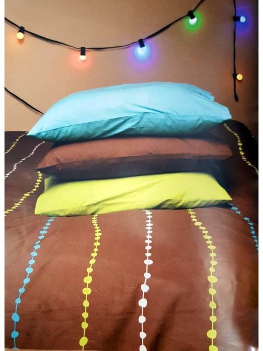 Bed Sheet Sets 100% Cotton 160TC - Printed/Plain - GARLAND - Select Size