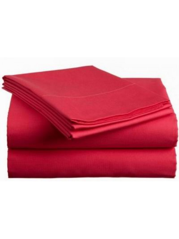 Plain Bedsheet Sets with 40cm drop - For thick mattress