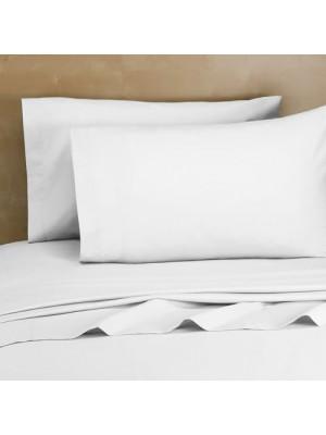 Set of Pillow Cases - 2pcs size 50X70cm White Cotton