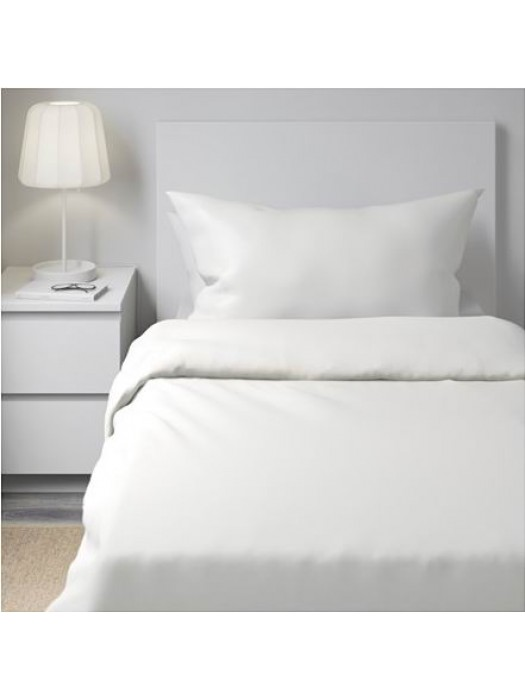 Quilt Cover Cotton - White - Select size