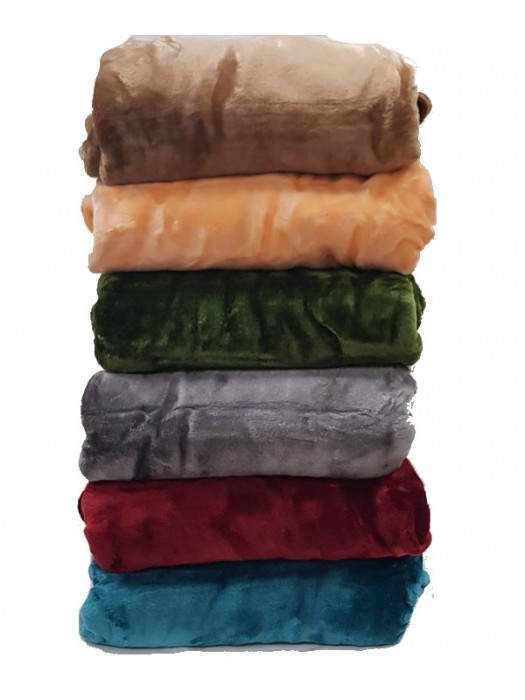 Blanket Velour - Select Color and Size