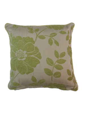 Cushion Covers 45X45cm 45G Flowers (Green, Brown, Ivory)