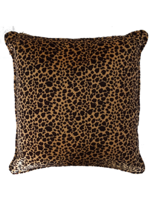 Cushion Cover 45cmX45cm - Animal Print Leopard - 4pcs minimum