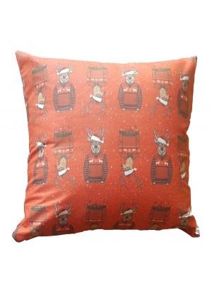 Christmas Cushion Cover 45cm X 45cm - NOEL