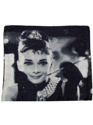 Cushion Cover Audrey Hepburn 45X45cm