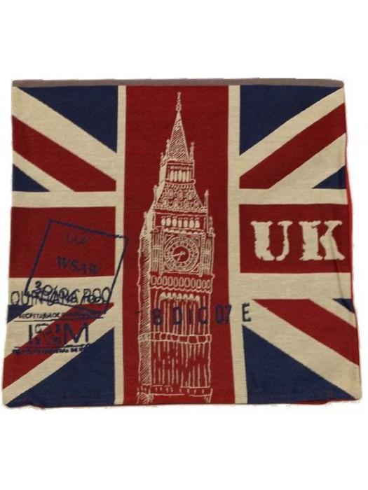 Cushion Cover 45X45 UK LONDON