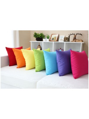 Plain Color Cushion Covers - Select color and size