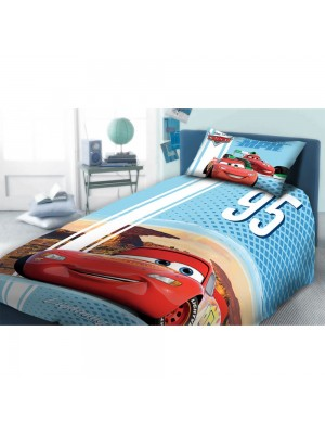 Bedsheets Set Maqueen, Cars- 2 flat sheets 160X260 + pillowcase