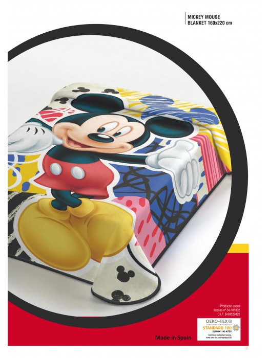 Blanket Mickey