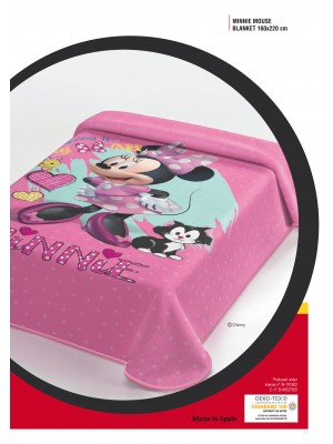 Blanket Minnie Mouse