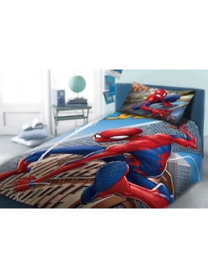 Bedsheets Set Spiderman - 2 flat sheets 160X260 + pillowcase