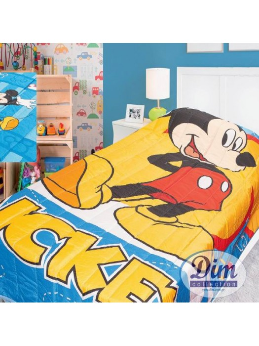 Bedspread / Bedcover 160X240cm Mickey Mouse