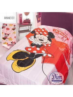 Bedspread / Bedcover 160X240cm Minnie Mouse