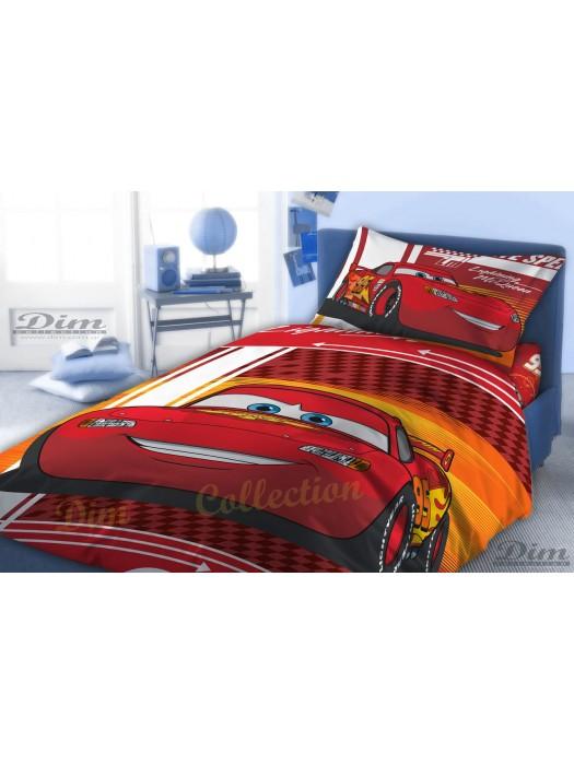 Quilt Cover Maqueen, Cars-  160X260 + pillowcase