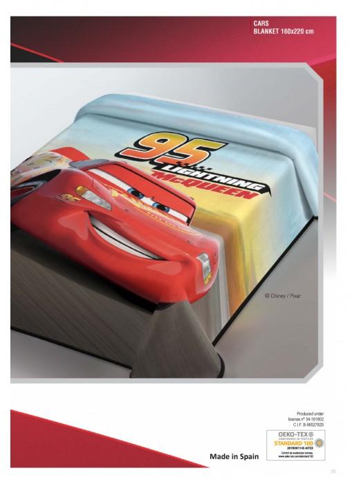 Blanket Cars McQueen