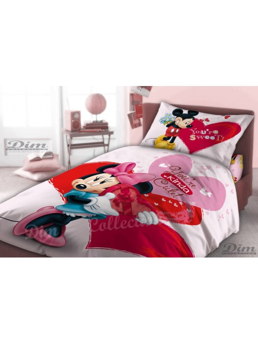 Quilt Minnie Mouse - Size 160X230