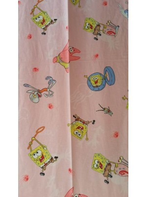 Sponge Bob - Fabric by the meter - 140cm width cotton