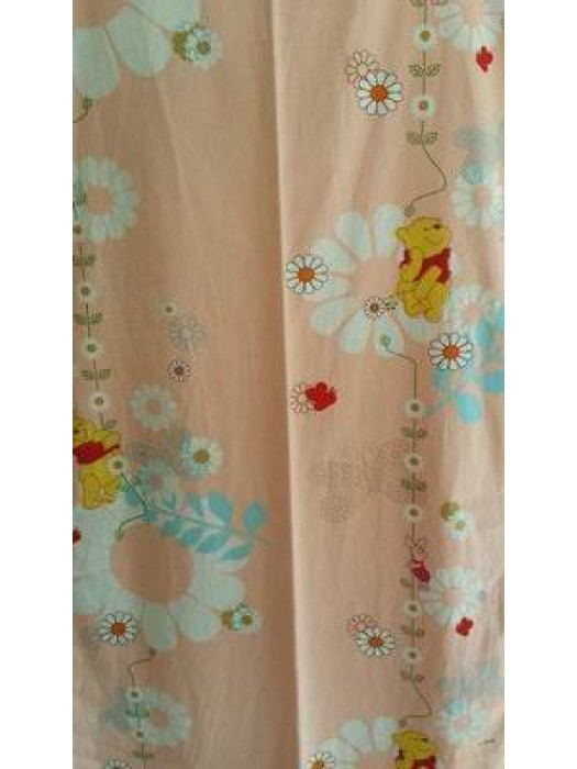 Winney the pooh - Fabric by the meter - 140cm width cotton
