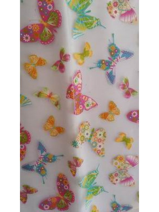 Fabric by the meter 300cm width - Organza art: Butterfly