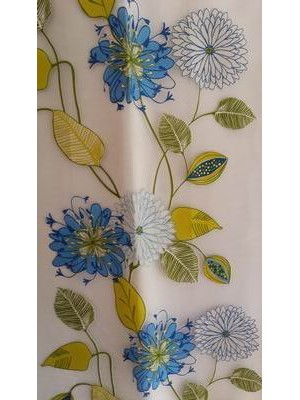 Fabric by the meter 300cm width - Organza art: Floral