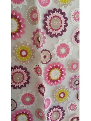 Fabric by the meter 300cm width - Organza art: GARDEN DEVORE