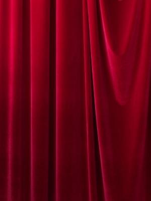 Velvet fabric for schools and theaters - 140cm width - select color