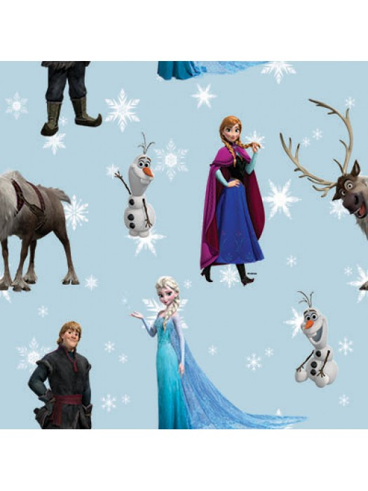 Frozen - Fabric by the meter - 140cm width cotton