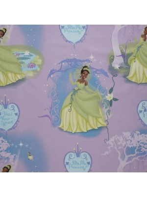 Princess Tiana- Fabric by the meter - 140cm width cotton