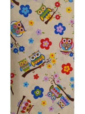 Fabric by the meter - KOUKOU FLOWER- 280cm width