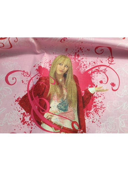 Hannah Montana - Fabric by the meter - 140cm width cotton