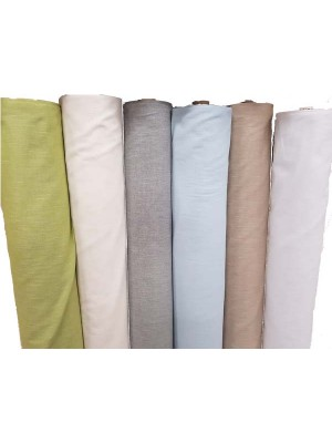 Linen fabric by the meter  300cm width (with lead band) - Visilo